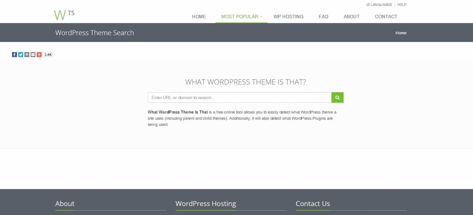 come scoprire tema e plugin di un sito wordpress