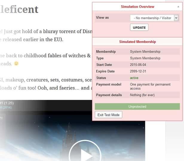 creare un sito con area riservata su wordpress con Mem 2