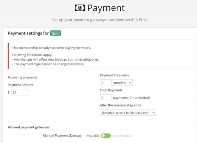 creare un sito con area riservata su wordpress con Memb 2