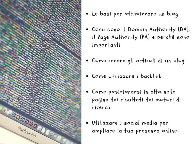 come far crescere un blog wordpress